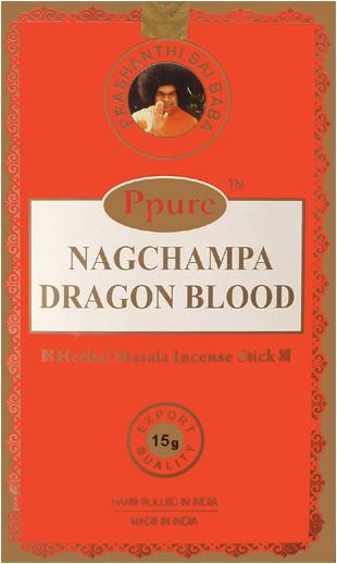 Encens Ppure nagchampa sang de dragon 15g