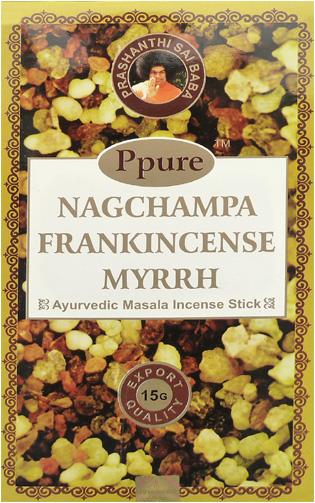 Encens Ppure nagchampa frankincense myrrhe 15g
