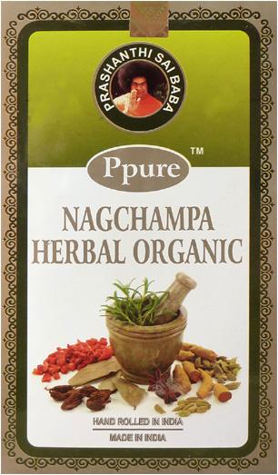 Encens Ppure nagchampa herbal organic 15g