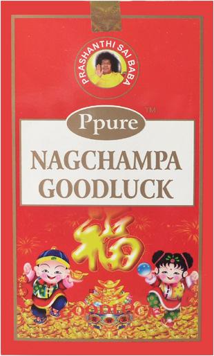 Encens Ppure nagchampa good luck 15g