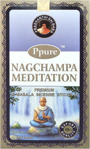 Encens Ppure nagchampa meditation 15g