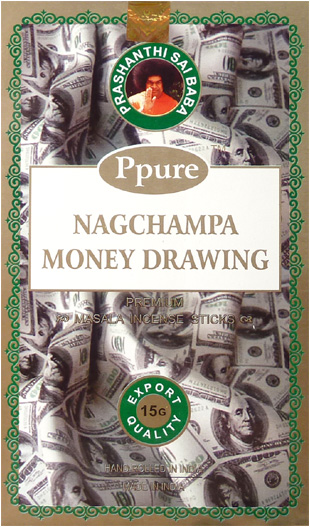 Encens Ppure nagchampa money drawing 15g