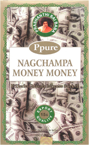 Encens Ppure nagchampa money money 15g