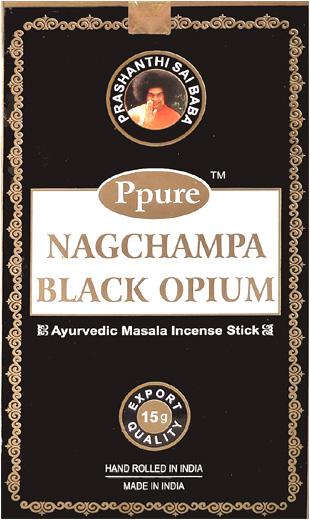 Encens Ppure nagchampa black opium 15g