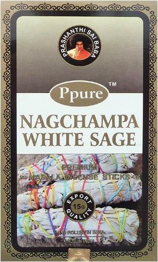 Encens Ppure nagchampa sauge blanche 15g