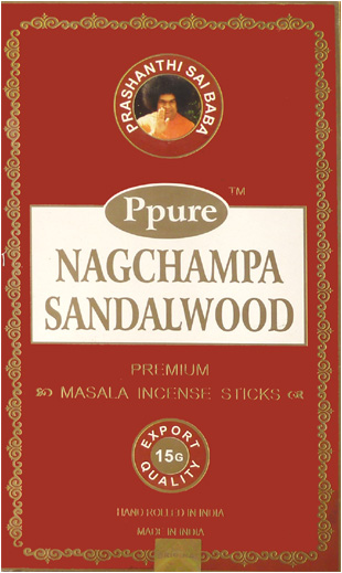 Encens Ppure nagchampa bois de santal 15g