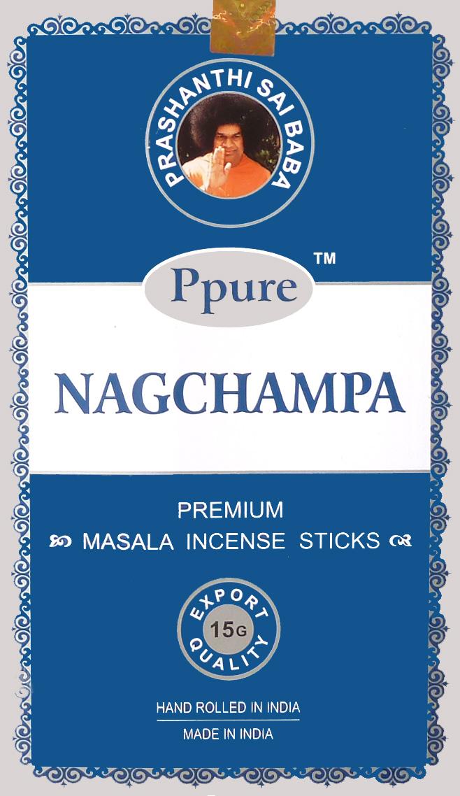 Encens Ppure nagchampa silver blue 15g