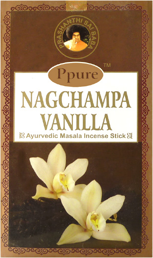 Encens Ppure nagchampa vanille 15g