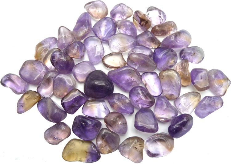 Ametrine extra pierres roulées 100g