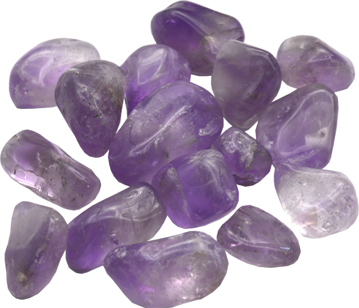 Amethyst small rolled stones 250g