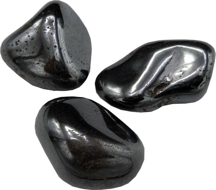 Hematite large roulées 250g