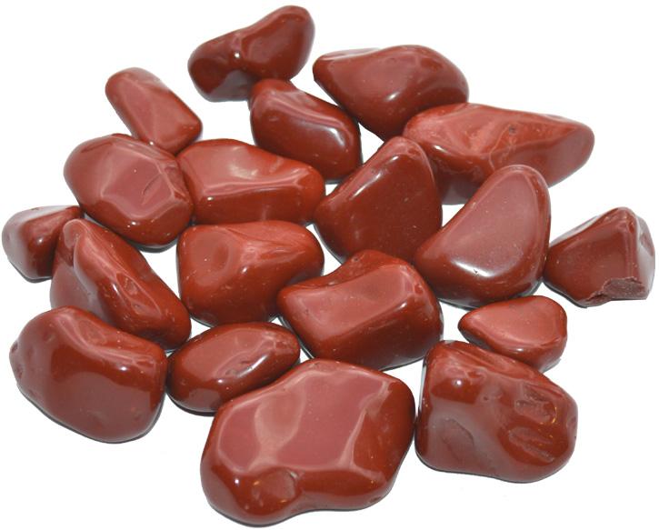Jaspe rouge extra pierres roulées 250g