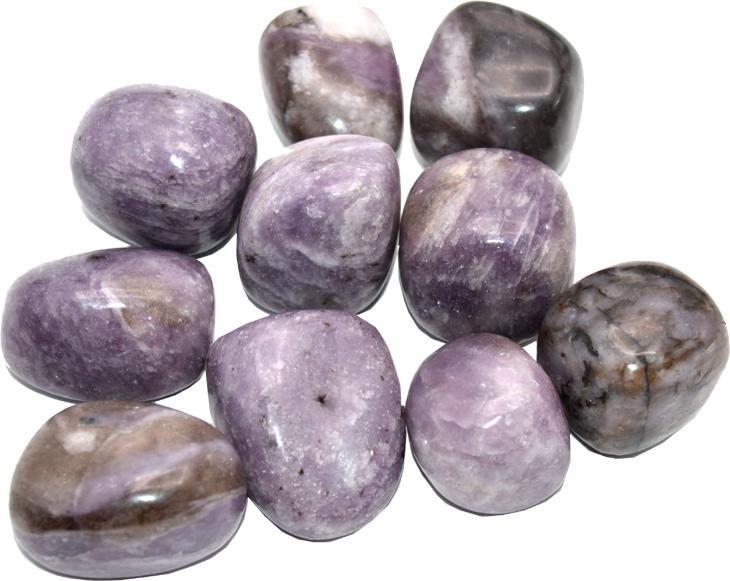 Lepidolite MICA pierres roulées 250g