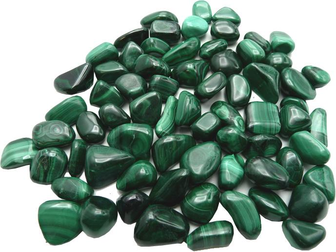 Malachite extra small roulées 250g