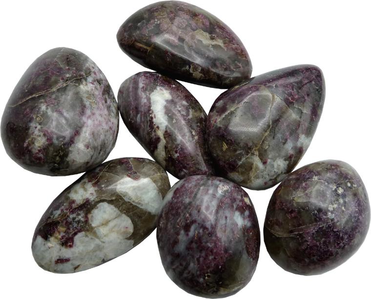 Rubis violet Birmanie Large roulées 500g