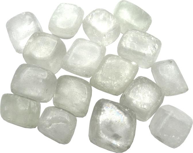 Sélénite pierres roulées 250g