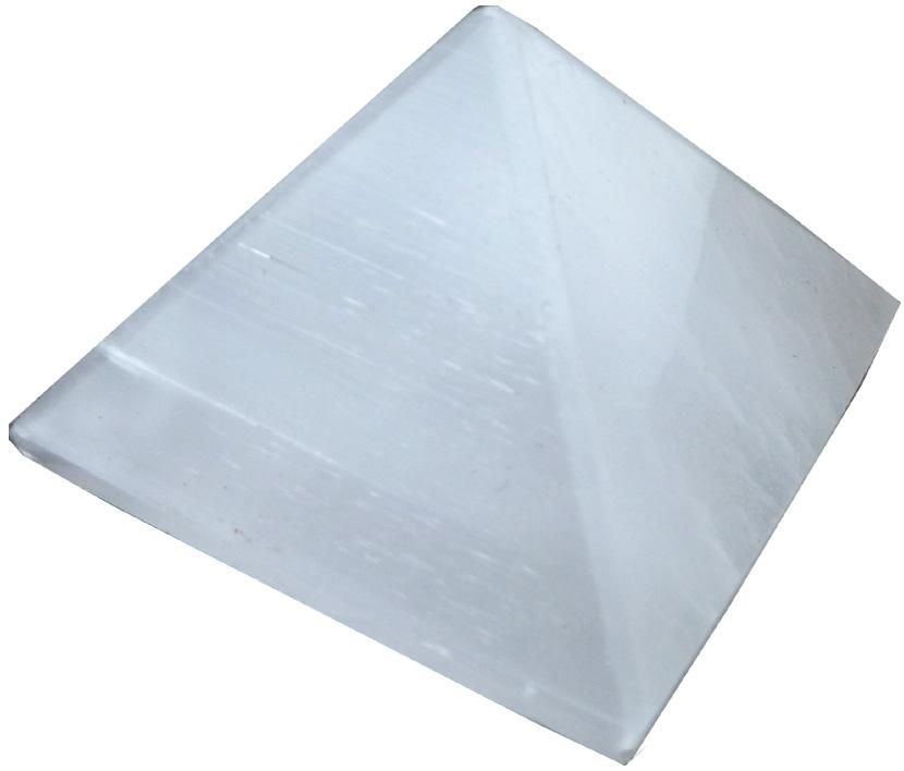 Pyramide sélénite 5cm