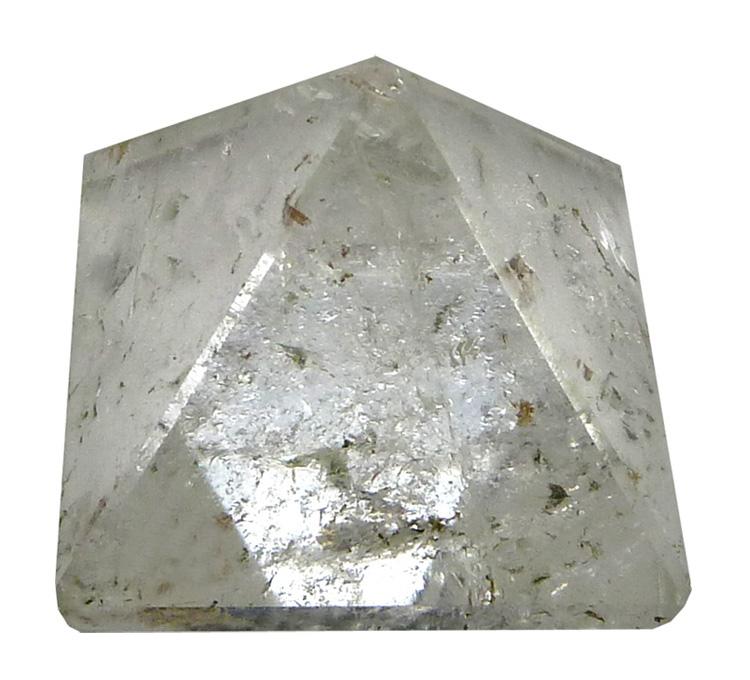 Pyramide cristal de roche extra 4cm