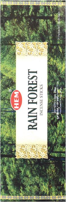 Encens hem rain forest hexa 20g