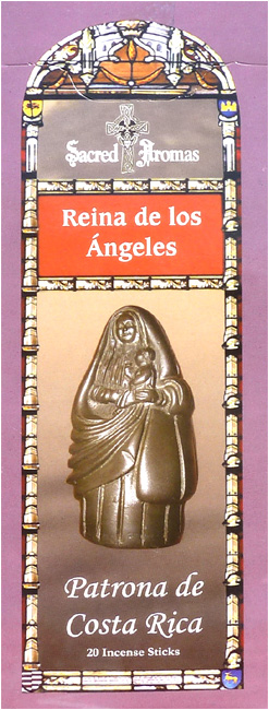 Incense tulasi sarathi Mary queen of los angelès hex 20g