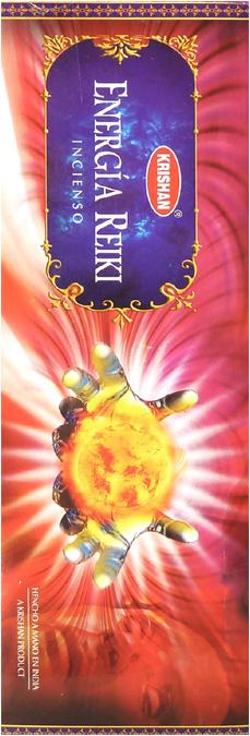 Encens krishan reiki energy 8 Bts