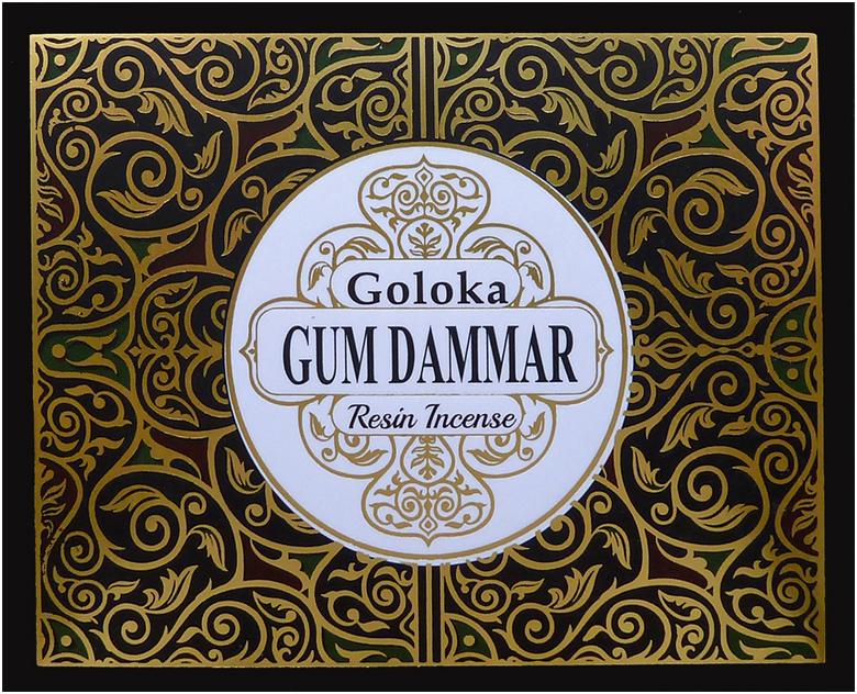 Goloka resin incense Damar 50g