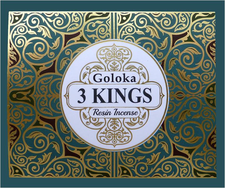 Goloka resin incense 3 kings 50g