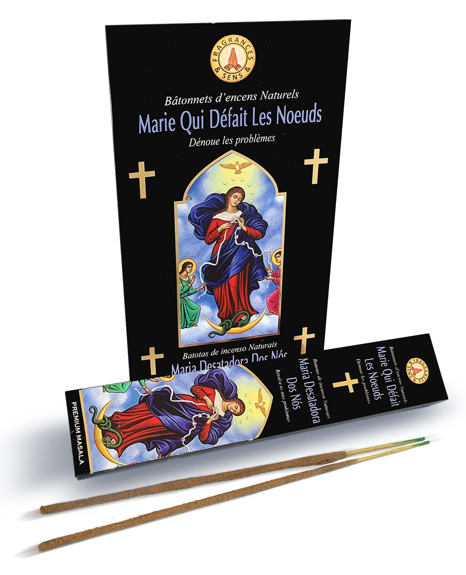 Incenso Fragrances & Sens Madonna dei Nodi masala 15g