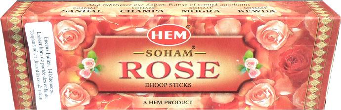 Encens hem soham rose dhoop sticks 25g