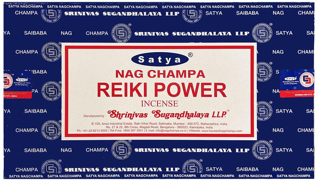 Incenso Satya Reiki Power 15g