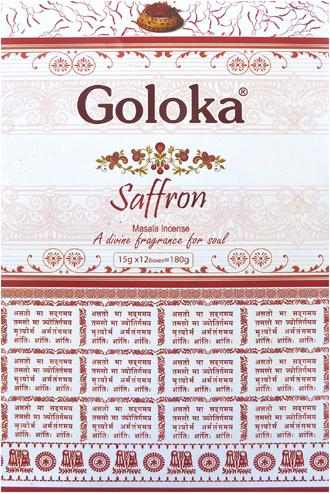 Encens goloka premium safran masala 15g