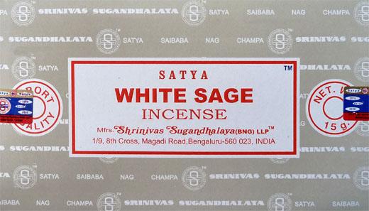 Encens satya sauge blanche 15g