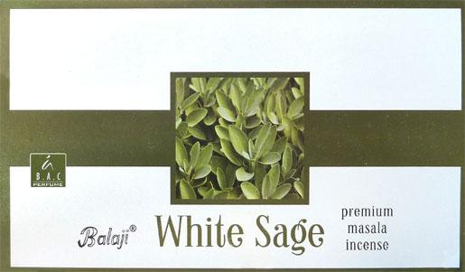 Balaji premium masala white sage incense 15g