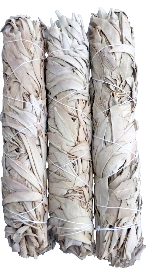White sage California string 3x40g 21cm