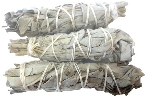 Sauge blanche californie ficelles 3x30g 12cm