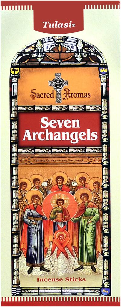 Encens tulasi sarathi sept archanges hexa 20g