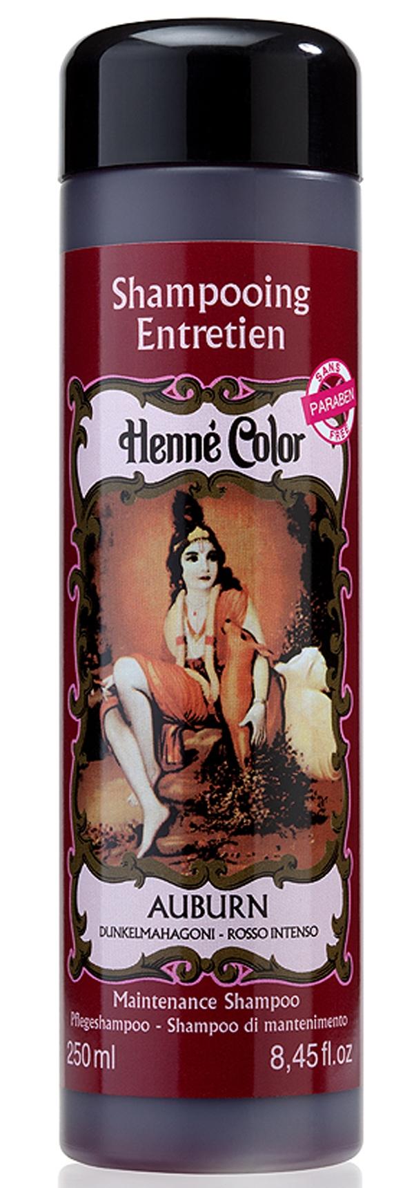 Shampooing entretien Henné Color auburn 250ml