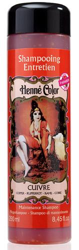 Shampooing entretien Henné Color cuivre 250ml