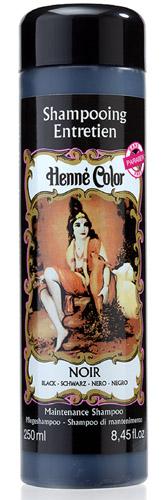 Shampooing entretien Henné Color noir 250ml