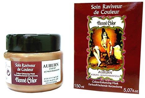 Soin Henné Color raviveur de couleurs au henné acajou 150ml