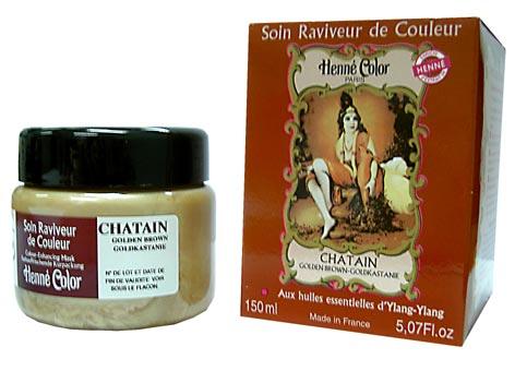 Soin Henné Color raviveur de couleurs au henné châtain 150ml