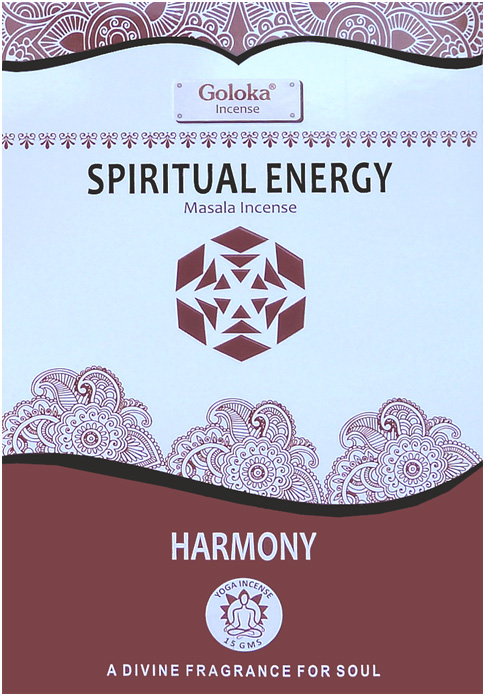 Encens goloka yoga series spiritual energy 15g