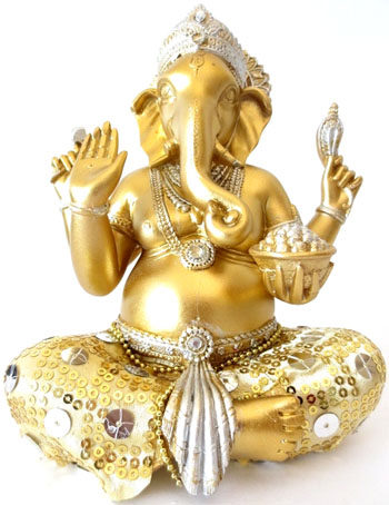 Ganesh assis or 20cm