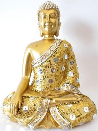 Bouddha meditation or 22cm
