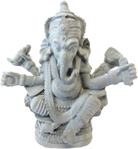 Statue ganesh hématite 8cm