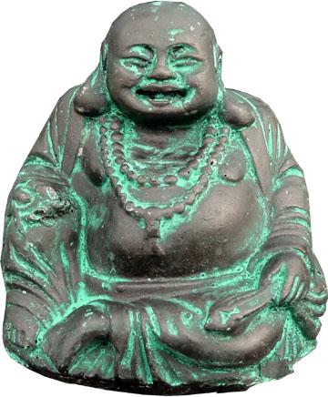 Bouddha résine chinois 8cm