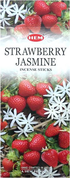 Encens hem fraise jasmin hexa 20g