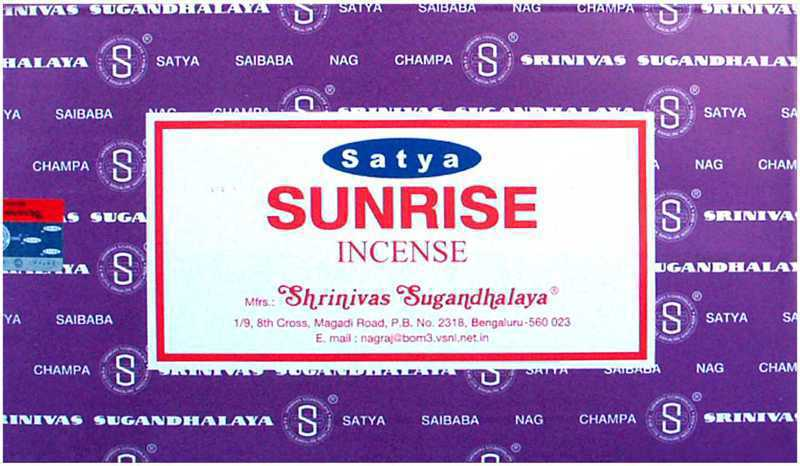 Incense Satya Sunrise 15g