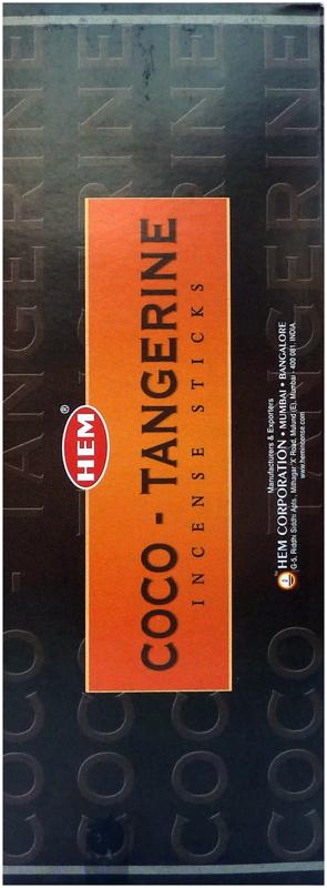 Encens Hem Tangerine Coco Hexa 20g