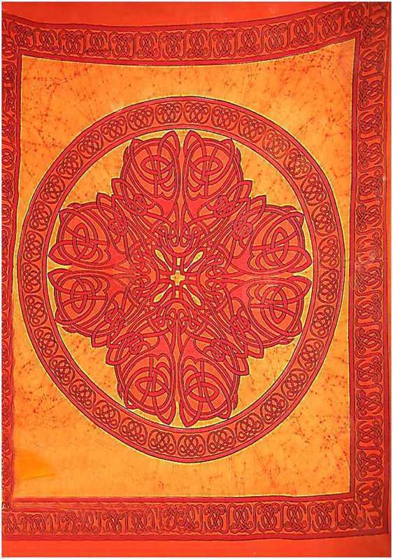 Tenture Batik Mandala